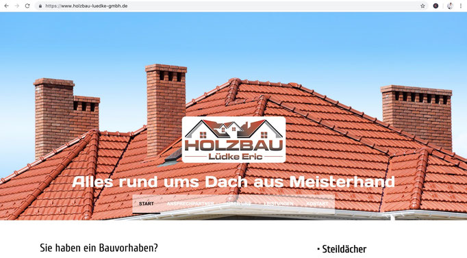 Webdesign Stefan Ellbrück / https://www.holzbau-luedke-gmbh.de/