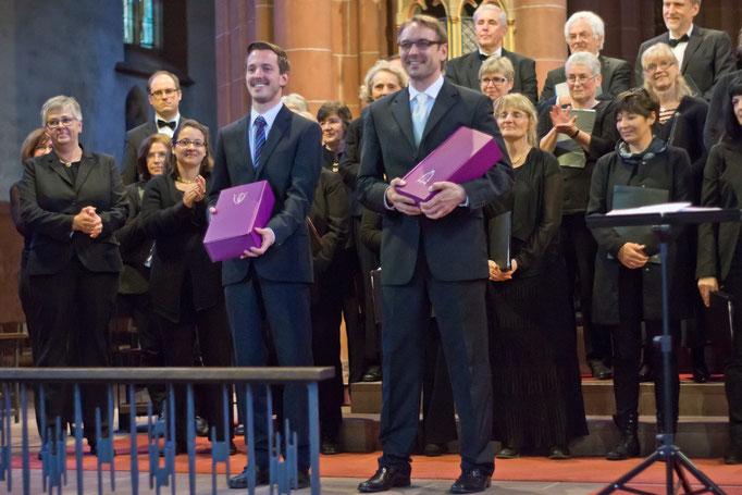 Jonas Janson, Orgel und Stefan Merkelbach, Leitung
