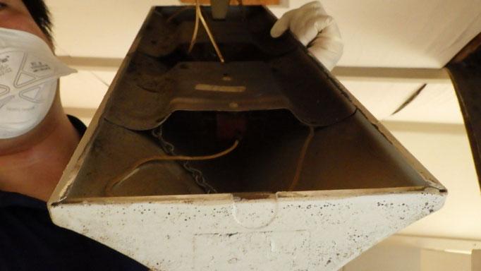 蛍光灯安定器のPCB確認調査