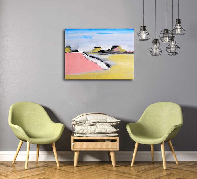 acrylbild im wartebereich
