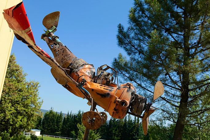 Avion  1er prix Art Récup de Donnat/Sabran 2014