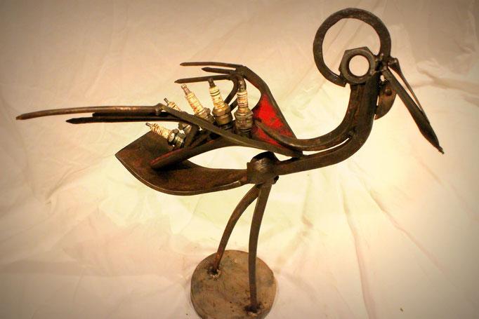 Oiseau h 50 cm disponible