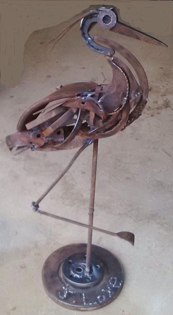 Héron h 120cm indisponible