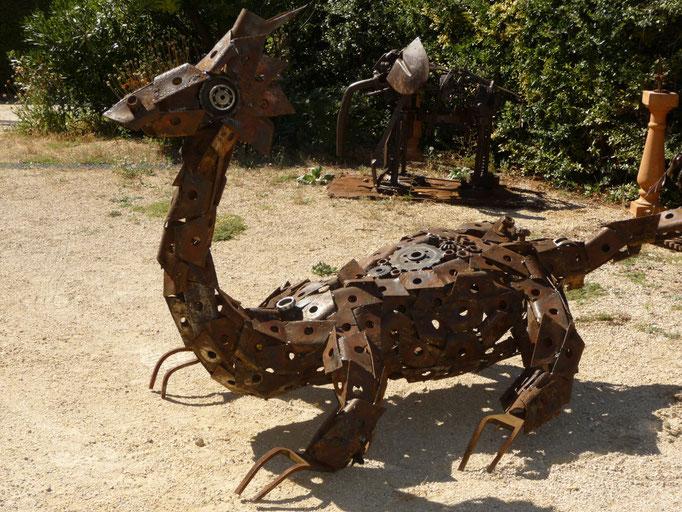 Dragon h 120cm L 200cm Larg 120 cm indisponible