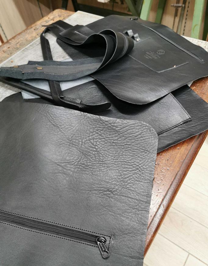 borsa da ufficio in cuoio