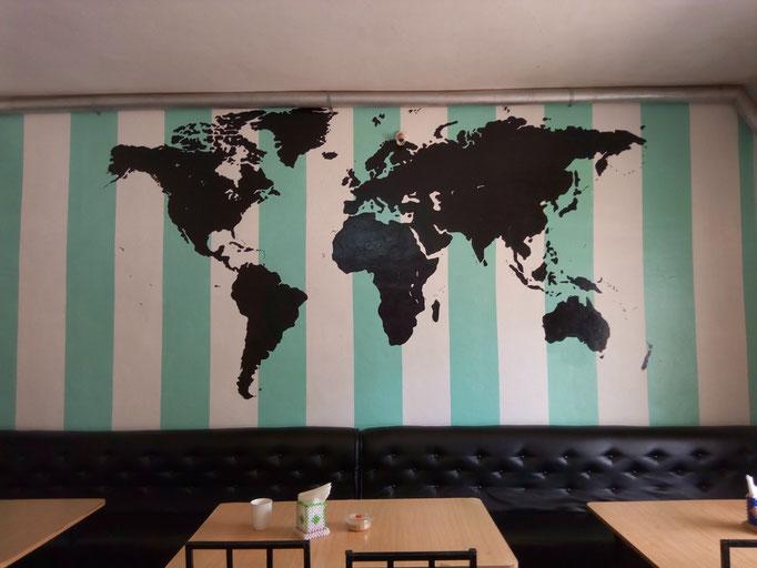 "The ""One World Coffee"" in Nyahururu – best coffee in town indeed..."