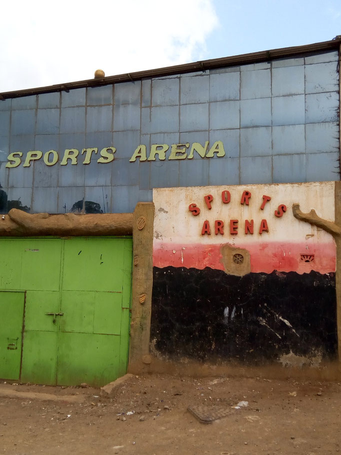 Sports Arena in Nyahururu!