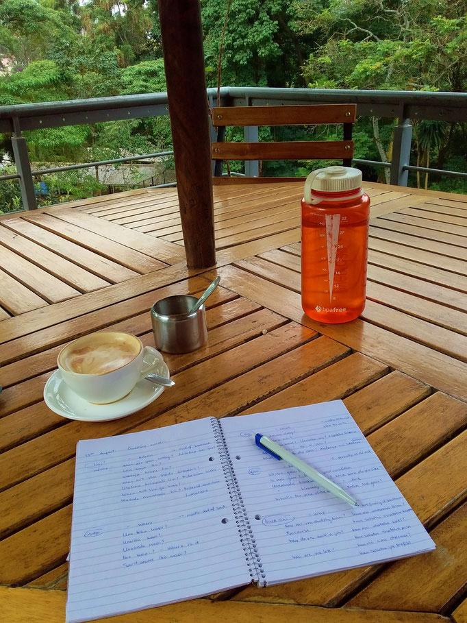 Studying Kiswahili. There might be worse places to study. Jina lako ni nani? Jina langu ni luca ;-)