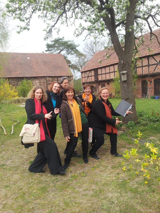 Am Gülper See 2013, Fertig fürs Konzert