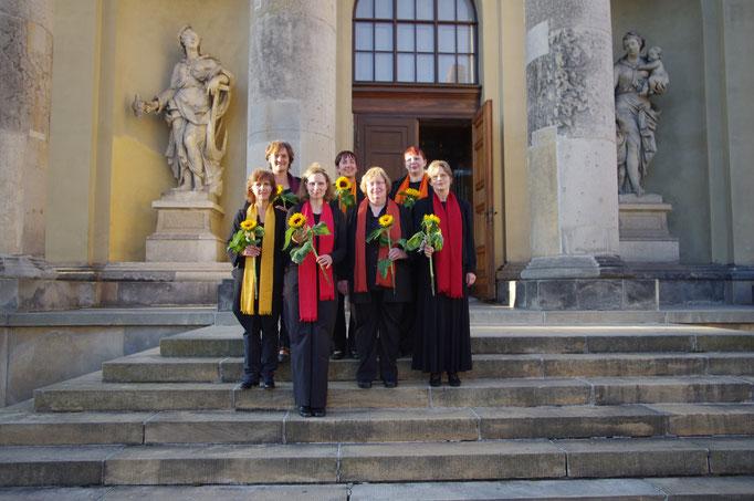 Potsdam 2012, Vor der Französischen Kirche