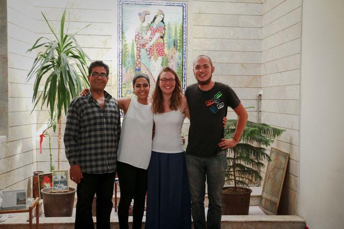 Zu Gast bei Familie Shahpar