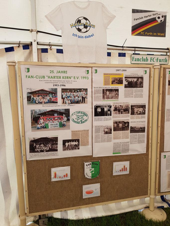 """Bilderausstellung 25. Jahre Fan-Club """"Harter Kern"""" e.V. 1993"""