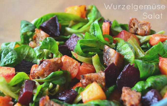 Wurzelgemüse Salat