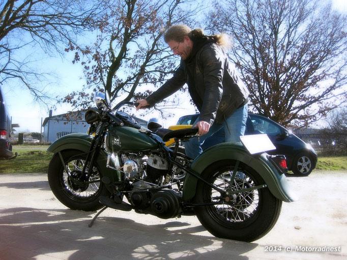 Motorradnest Harley