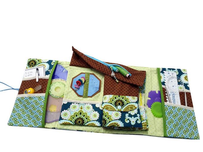 Knit-to-go, Nadeltasche, Stricktasche, Handarbeitstasche, Knooking-Bag