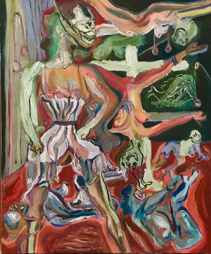 Thermocline Otto Dix, oil on canvas cm 50x60, 2017