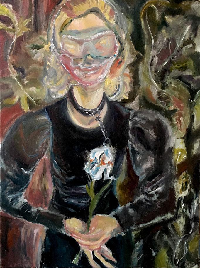 Thermocline Otto Dix, oil on canvas cm 30x40, 2016