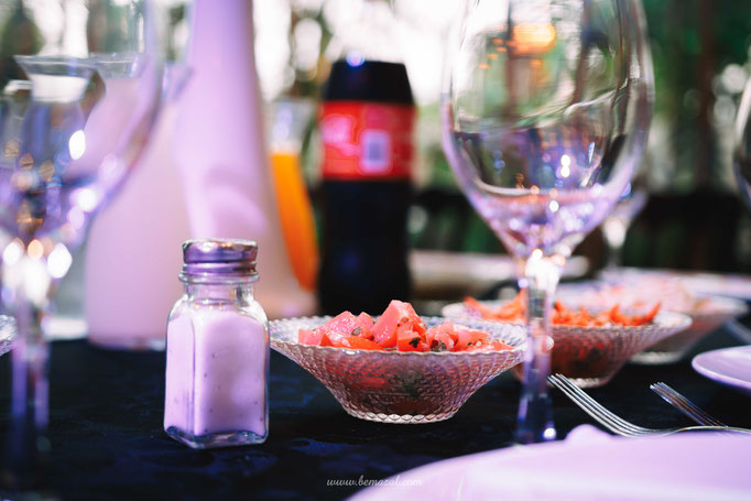 שולחנות אוכל באולמי סליה חולון