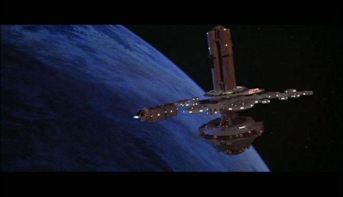 John Dykstra' s Arbeit bei Star Wars eröffnete den Filmemachern im SciFi Genre ganz neue Möglichkeiten, die für Star Trek genutzt wurden