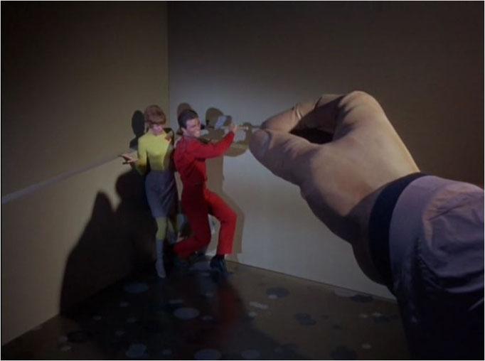 diese künstliche Riesenhand wurde im Laufe der 51 Episoden häufig eingesetzt