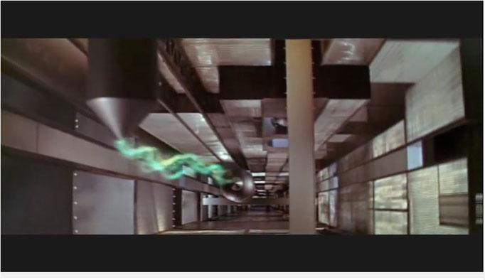 noch ein Beispiel für die große Inspiration, als die dieses Werk den Filmemachern späterer Zeiten diente: der Maschinenplanet der Krell diente eindeutig als Grundlage für den Maschinenplaneten in Babylon 5