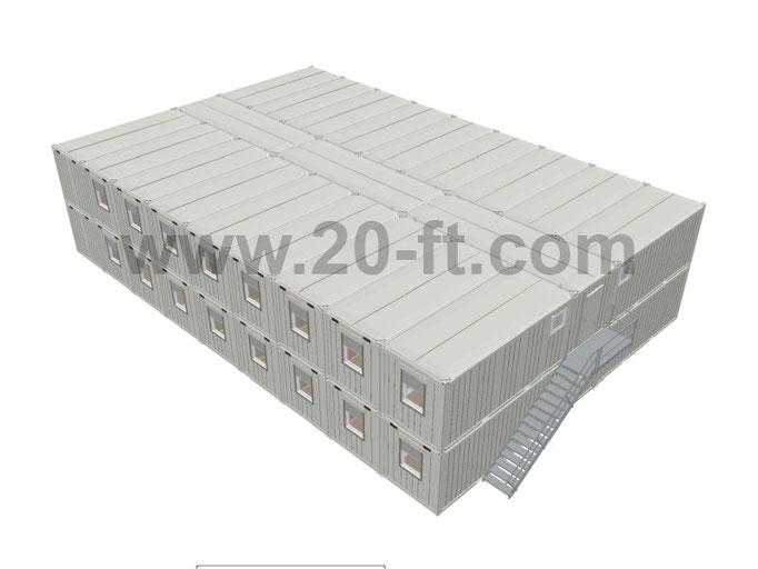 Модульное здание containex, эскиз
