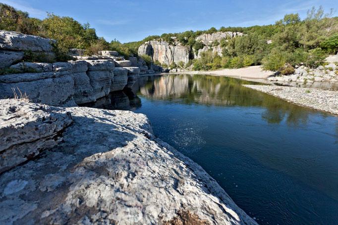 Ardèche Schlucht, Felswände, Canyon, Wildnis, Klippen