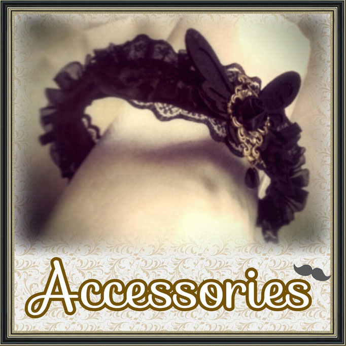 Steampunk Lolita Accessories