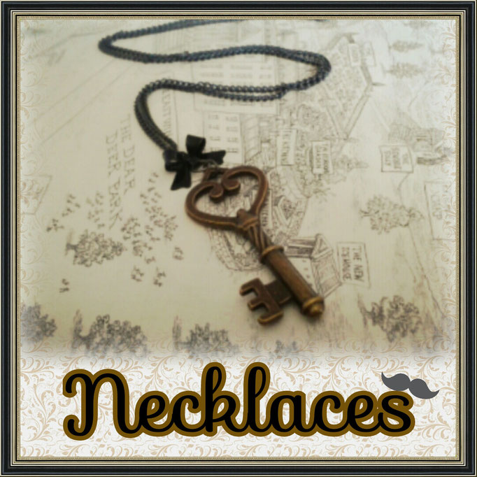 Steampunk Lolita Necklaces & Chokers