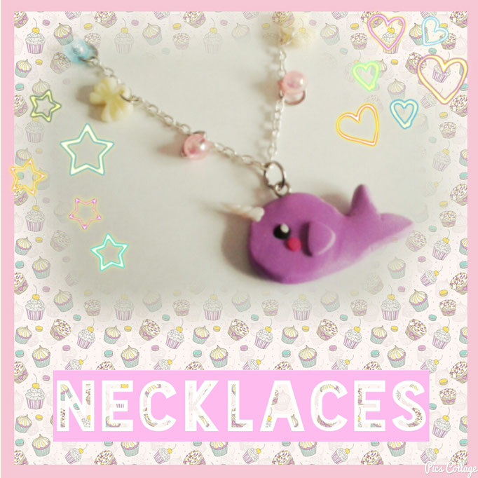 Kawaii & Sweet Lolita Necklaces & Chokers