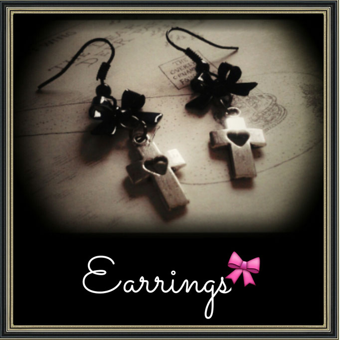 Gothic Lolita EGL Earrings