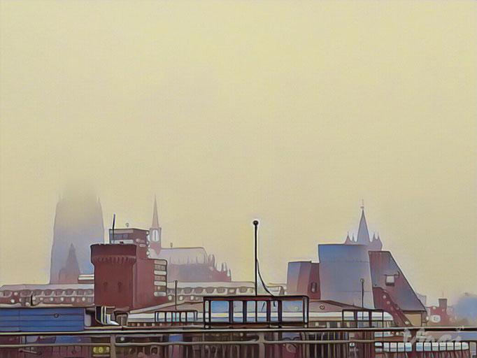 Foto Uli Gilles Location Köln Rhein Kamera Huawewi P8