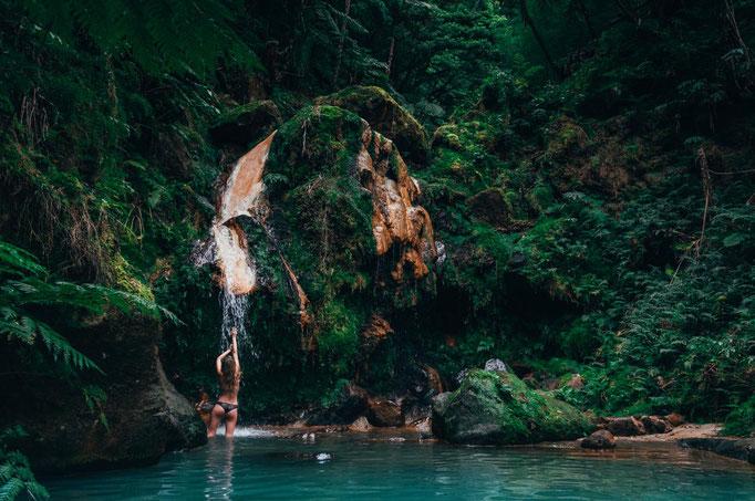 Azores - Sao Miguel - Caldeira Velha - Copyright  alesak