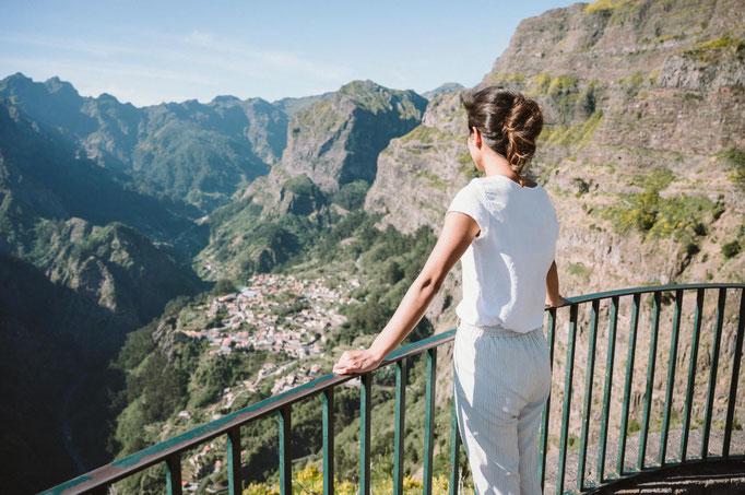 Madeira Curral das Freiras viewpoint - copyright Simon Dannhauer