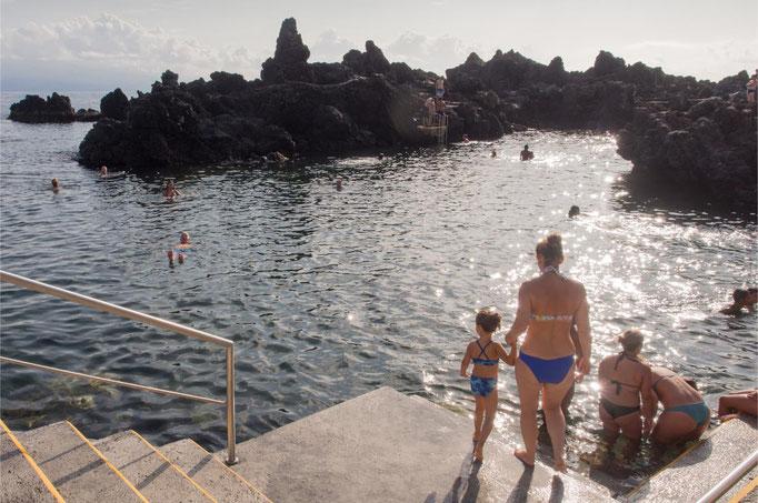 Azores - Sao Jorge Island - Poca das Fadres pool in Velas - copyright Emma Jones