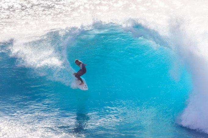 Madeira surfing - copyright Dennis van de Water