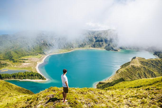 Lagoa do Fogo, São Miguel Island, Azores -by hbpro