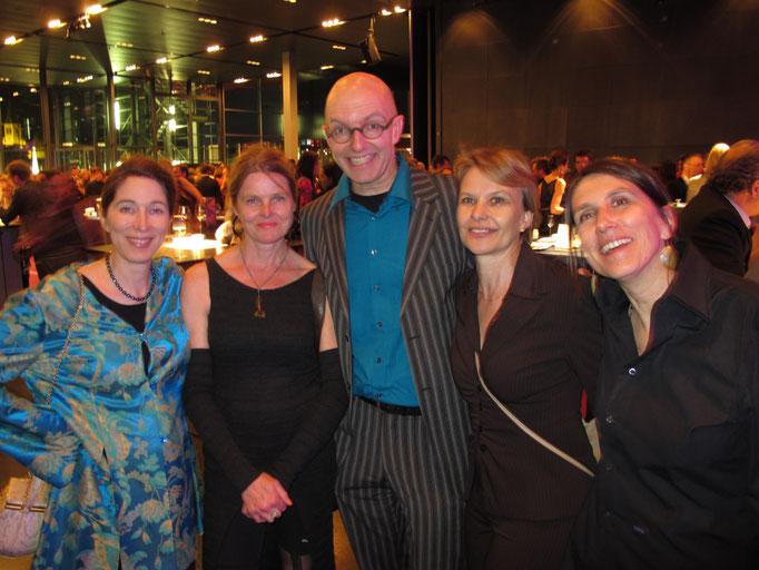 Madeleine Gentinetta mit Lea und Jonas Raeber, Susann Wach, Claudia Wick