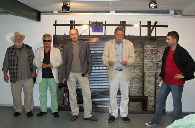 Ferenc Mező, Hans Peter Bauer; Miklós Klaus Rózsa  & Csaba Kozák, Kurator