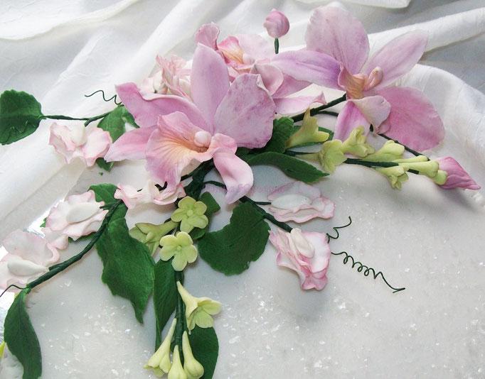 Сахарные цветы ручной работы