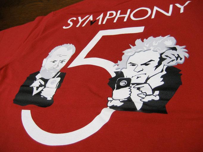 粒谷区管弦楽団 さま 粒オケTシャツ 5番なう