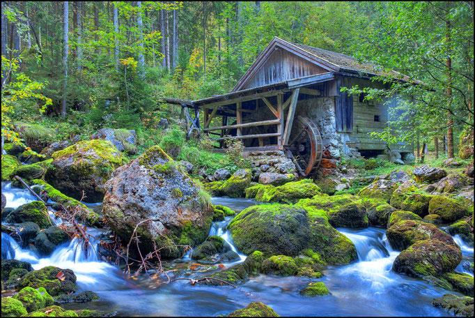 Die Gollinger Wassermühle