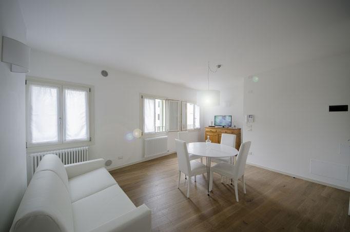 Living room con divano letto