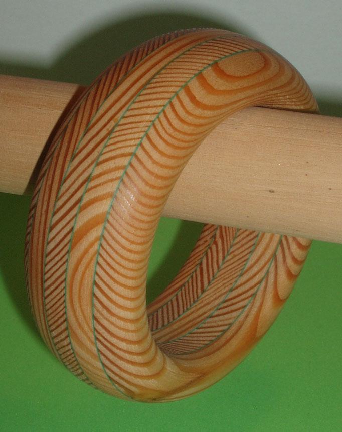 Lärchenholz mit grüner Zwischenschicht Durchm. innen 65 mm   SFr. 165.-        portofrei Vorkasse Nr. 1744130