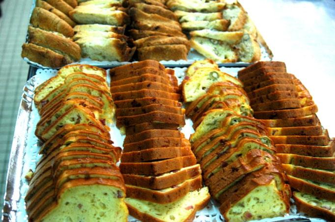 Cake olives jambon gruyère