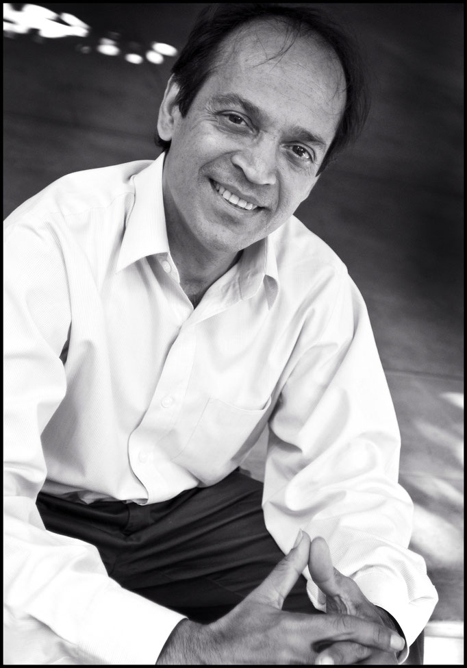 Vikram Seth, Indian novelist & Poet, (Colombo 2007) © OBS