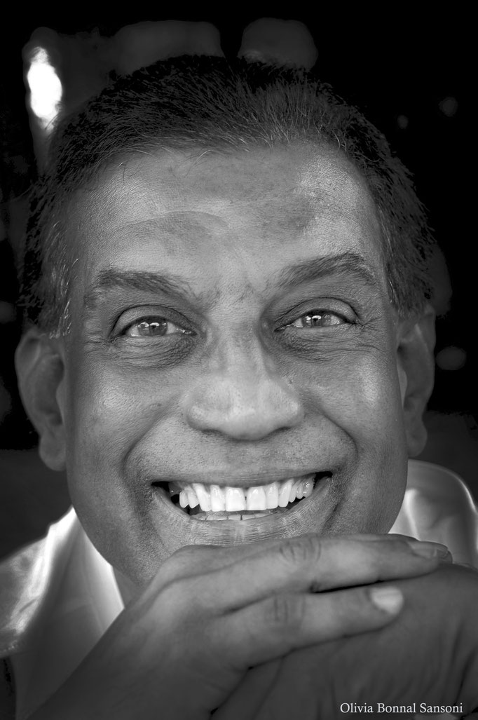 Jerome de Silva, Actor & Director, (Sri Lanka 2012) © OBS