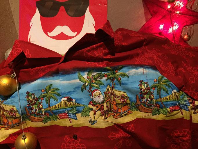 Original Hawaiihemd von Rocketeers! Chillin Santa