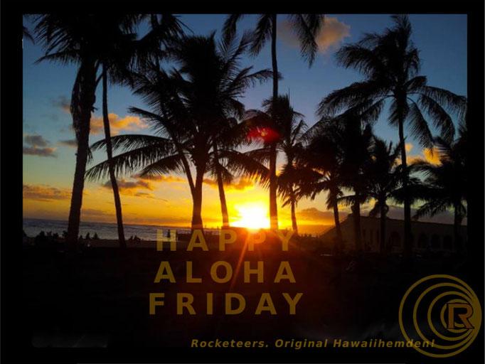 Original Hawaiihemd von Rocketeers! Aloha Friday 13. Januar 2017