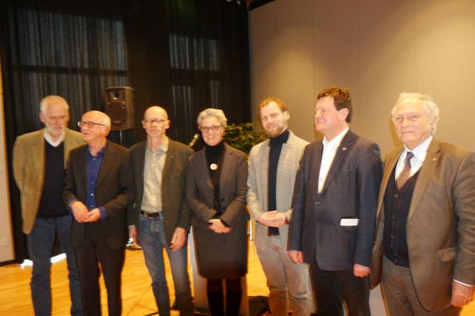 Dr. Wolfgang Voigt, Dr. Uwe Degreif, Andreas Ruess, Dipl.-Ing. Carmen Mundorff, Dr. Jörg Widmaier, Dr. Edwin E. Weber, Prof. Dr. Thomas Zotz